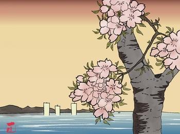 150405桜塗り絵完成1.jpg