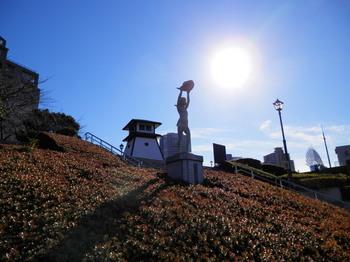 佃公園(みどりの風と石川島灯台跡).jpg