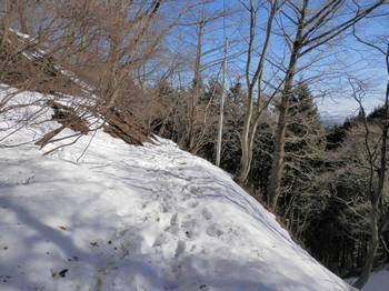 和田峠~陣馬山頂上(平坦コース・雪道).jpg