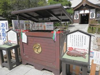大前神社(おもかるコイ石).JPG