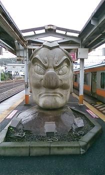 天狗面の像.JPG
