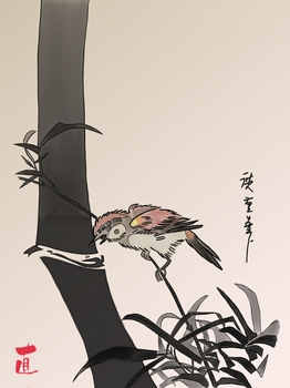 広重の竹と雀1.jpg