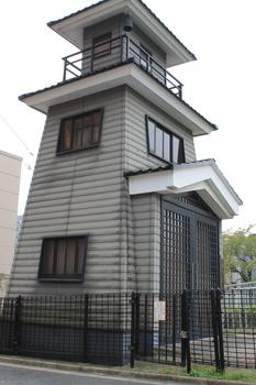 門前仲町の火の見櫓.JPG