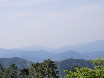 高尾山(頂上から大山を望む).jpg